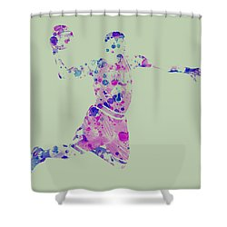 Derick Rose Shower Curtain