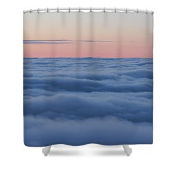 Descent Shower Curtain by Bruce Patrick Smith