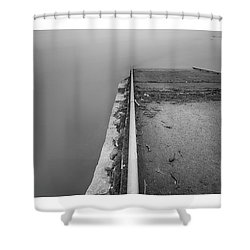 Descent Shower Curtain