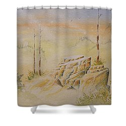 Deschutes Canyon Shower Curtain