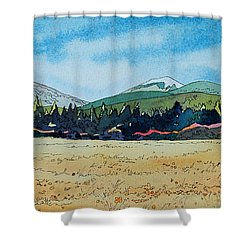 Deschutes River View Shower Curtain