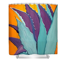 Desert Agave Cactus Shower Curtain
