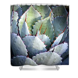 Desert Artichoke Agave Shower Curtain