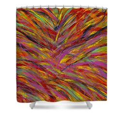 Desert Blossoms Shower Curtain
