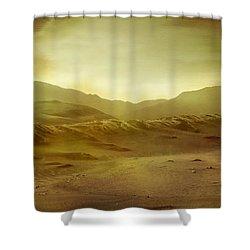 Desert Shower Curtain by Brett Pfister