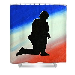 Desert Duty II Shower Curtain