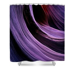 Desert Eclipse Shower Curtain