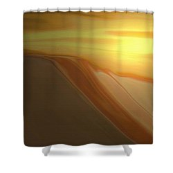 Desert Heat 3 Shower Curtain