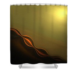 Desert Heat I Shower Curtain