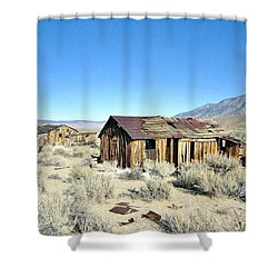Desert Heat Shower Curtain