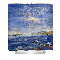 Desert Hills Shower Curtain by Patricia Espir
