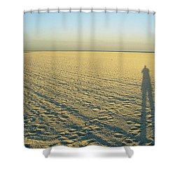 Shower Curtain featuring the photograph Desert Like by David Nicholls