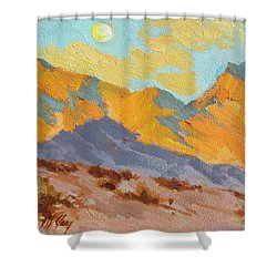 Desert Morning La Quinta Cove Shower Curtain