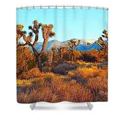 Desert Mountain Shower Curtain