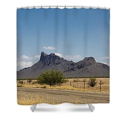 Desert Mountains Shower Curtain