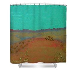 Desert Overlook Shower Curtain