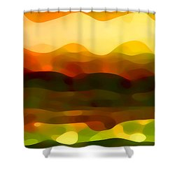 Desert Pattern 2 Shower Curtain by Amy Vangsgard