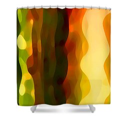 Desert Pattern 4 Shower Curtain by Amy Vangsgard