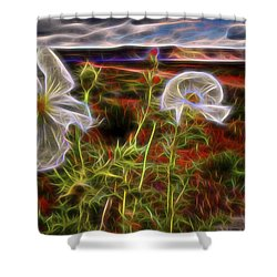Desert Primrose 2 Shower Curtain
