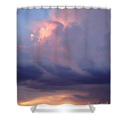 Desert Rainstorm 6 Shower Curtain