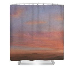 Desert Sky A Shower Curtain