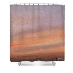 Desert Sky C Shower Curtain