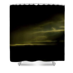 Desert Spotlight Shower Curtain