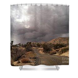 Desert Storm Come'n Shower Curtain