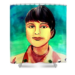 Desert Storm Jennifer Shower Curtain
