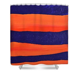 Desert Streams Shower Curtain