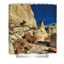 Desert Towers Shower Curtain by Adam Jewell