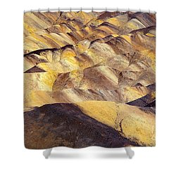 Desert Undulations Shower Curtain