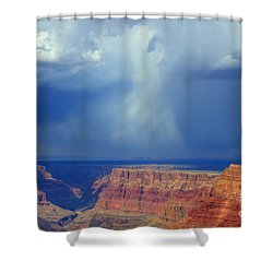 Desert View Grand Canyon Shower Curtain by Bob Christopher