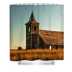 Deserted Devotion Shower Curtain