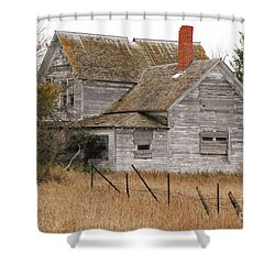 Deserted House Shower Curtain by Mary Carol Story