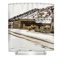 Deserted Street Shower Curtain by Sue Smith