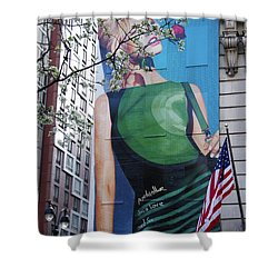 Desigual Shower Curtain by Alice Gipson