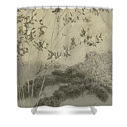 Desires Shower Curtain by Max Klinger