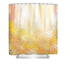 Desirous Shower Curtain by Lourry Legarde