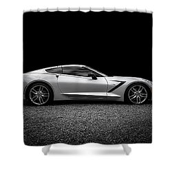 Desolation Angel Shower Curtain