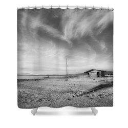 Desolation Shower Curtain by Hugh Smith