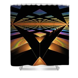 Destination Paths Shower Curtain