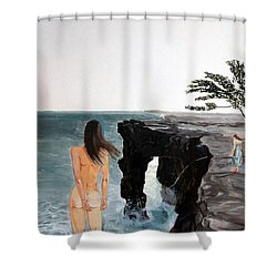 Destinos Shower Curtain