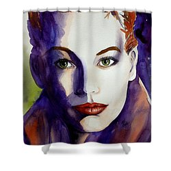 Determined Shower Curtain