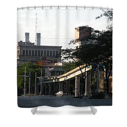 Detroit3 Shower Curtain