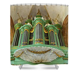 Deventer Organ Shower Curtain