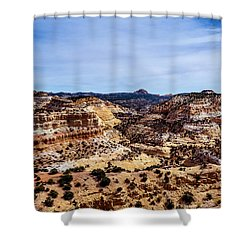 Devil's Canyon Shower Curtain