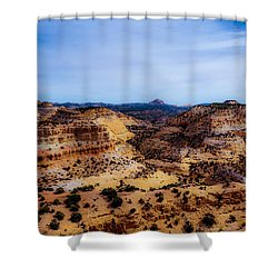 Devil's Canyon2 Shower Curtain