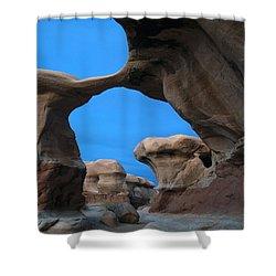 Devil's Garden Metate Arch 004 Shower Curtain