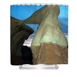 Devil's Garden Metate Arch 008 Shower Curtain